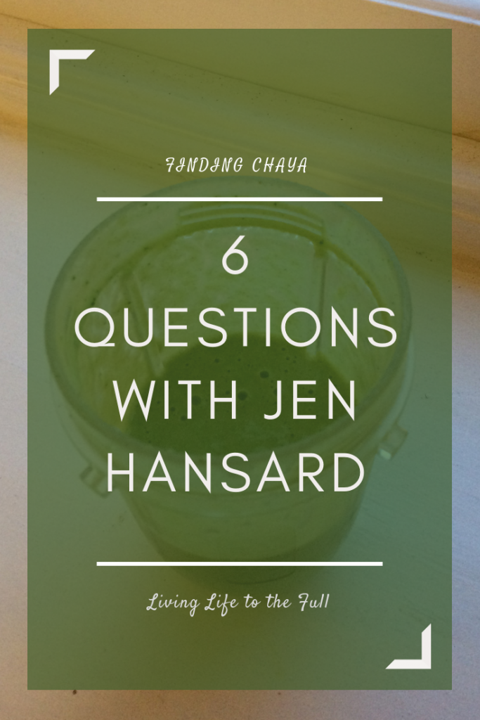 6 Questions with Jen Hansard