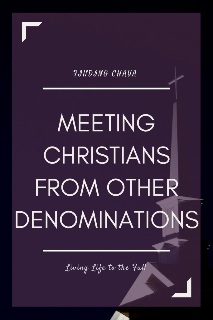The Importance of Meeting with Christians from All Denominations