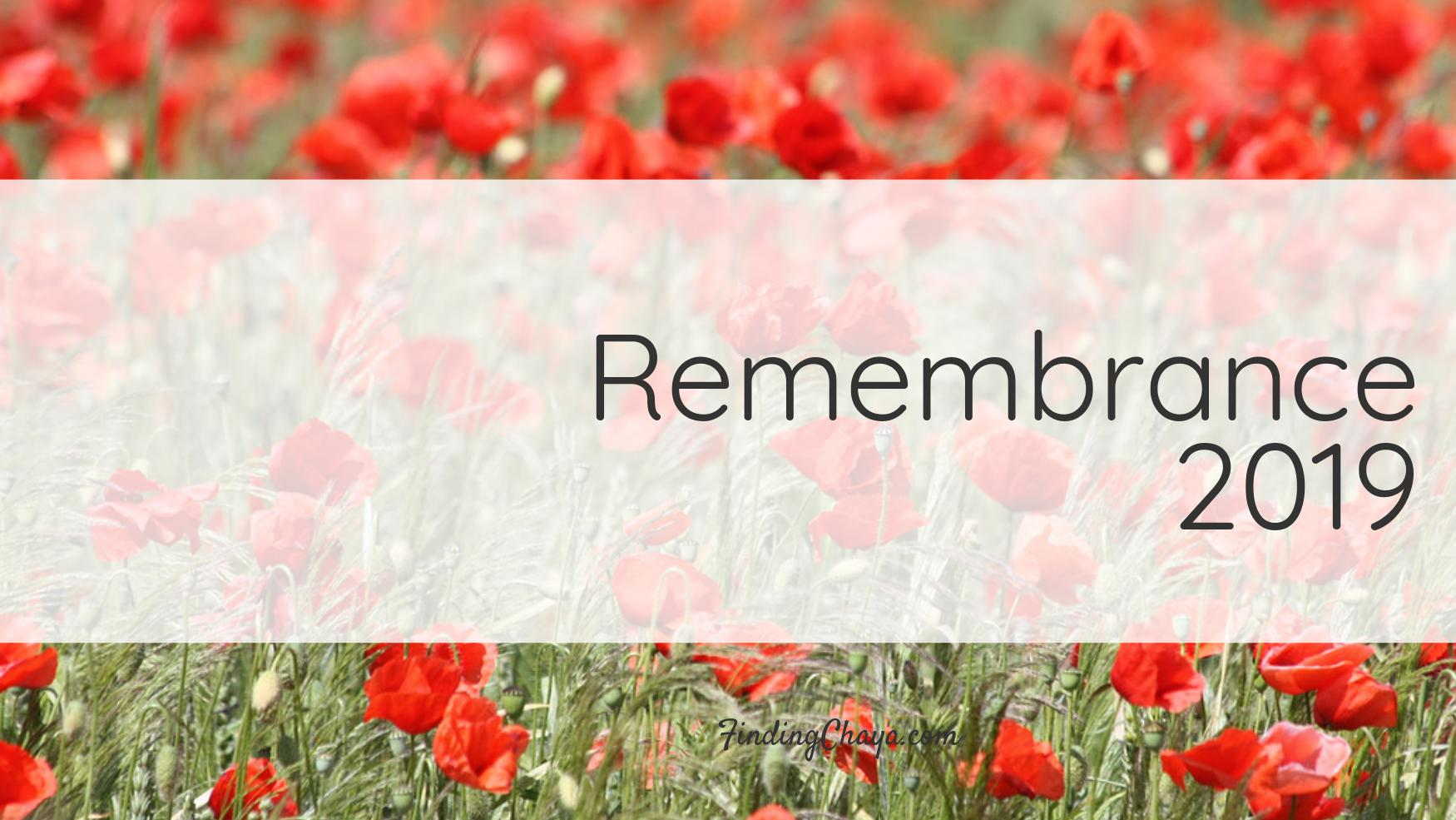 Remembrance 2019