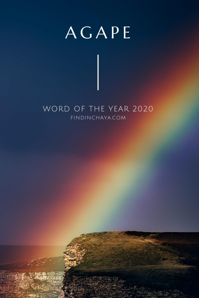 Agape: Word of the Year 2020