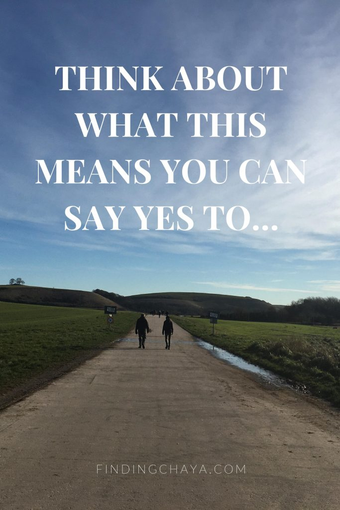 """Think about what this means you can say yes to..."" - Holiday Busyness needs a Year-Round Solution"