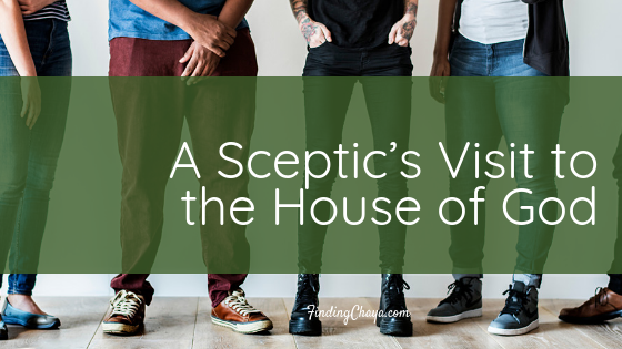 A Sceptic's Visit to the House of God