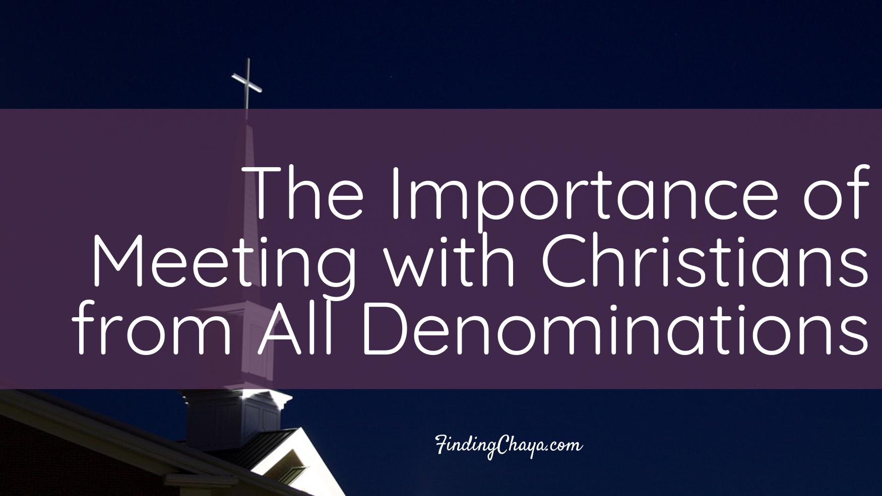 Why I Love My Workplace Fellowship || The Importance of Meeting with Christians from All Denominations